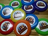 Unbranded 12 FNAF Five Nights at Freddy's Fazbear Mini frisbees, Birthday Party Favors, Goodie Bag loot