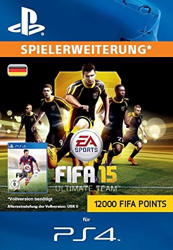 12000 FIFA 15 Ultimate Team Points [Zusatzinhalt][PS4 PSN Code - deutsches Konto]