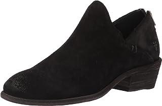 Frye Women's Carson Shootie Ankle Boot, Black Suede, 6.5