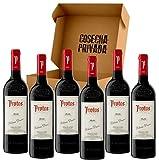 Protos Roble - Envío Gratis 24 H - 6 Botellas - Vino Tinto - Ribera del...