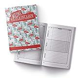 itenga Hausaufgabenheft Flamingo DIN A5 96 Seiten Schulbedarf Meine Hausaufgaben für Grundschule Gemeinschaftsschule Gymnasium