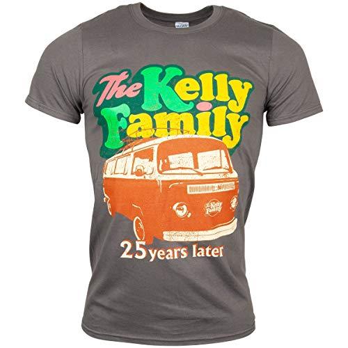 The Kelly Family 2019 Camper Van T-Shirt grau (S)