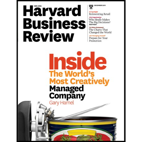 Harvard Business Review, December 2011 audiobook cover art