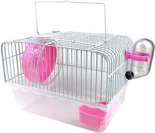 Petzilla Basic Hamster Cage Habitat, Travel Carrier for Small Animal