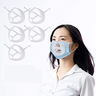 3D Mask Bracket-Protect Lipstick Lips-Internal Support Holder Frame Nose Breathing smoothly-DIY Face Mask Accessories,Comf...