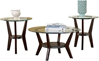 Best coffee table glass top round Reviews