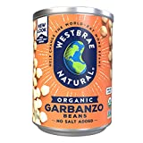 Westbrae Natural Organic Garbanzo Beans, 15 Ounce (Pack of 12)...