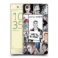 オフィシャル Justin Bieber グリッドポスター Purpose Sony Xperia X/X Dual 専用ハードバックケース