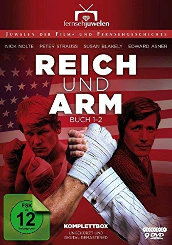 Rich Man, Poor Man - Complete Series - 9-DVD Boxset ( Rich Man, Poor Man (Book One - Chapters 1-12) ) [ Origine Tedesco, Nessuna Lingua Italiana ]