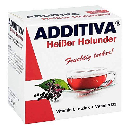 ADDITIVA heißer Holunder Pulver 200 g