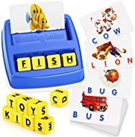 WIKi Matching Letter Game for Kids - Best Gifts