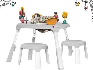 ORIBEL Saucer to Table Setジャンパールーウォーカーウォーカーランニングテーブル椅子セット (gray) [並行輸入品]