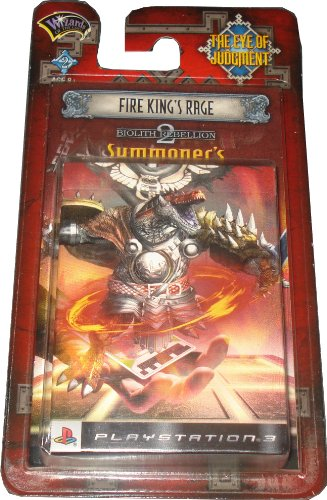 Eye of Judgment Biolith Rebellion Serie 2 Deck Fire Kings Rage [Import Allemand]