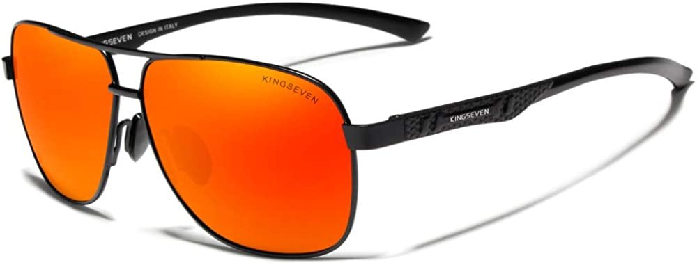 Dedication KINGSEVEN Max 72% OFF Brand Men's Sunglasses Polarized Al-Mg UV400 Ultra Lig