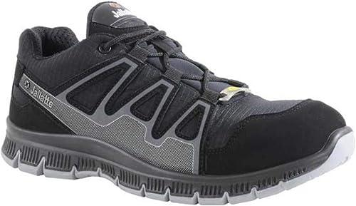 Jalatte JNU26-44 Chaussures de sécurité J-Nude Jalcatch  SAS ESD S1P SRC Taille 44 noir gris,