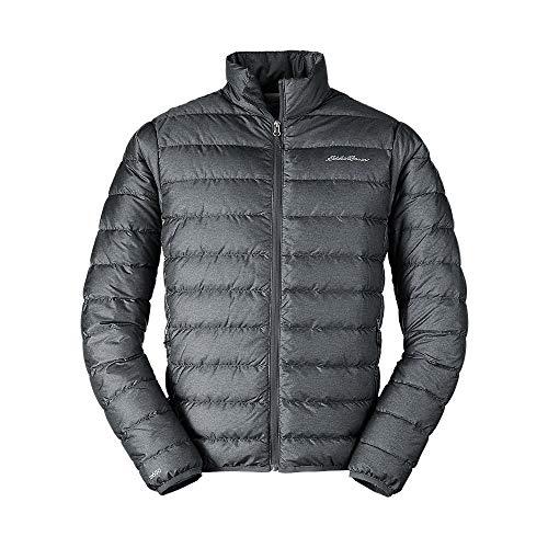 Eddie Bauer Men's CirrusLite Down Jacket, Dk Smoke HTR Regular L