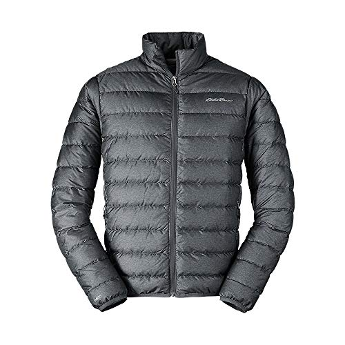 Eddie Bauer Men's CirrusLite Down Jacket, Dk Smoke HTR Regular M