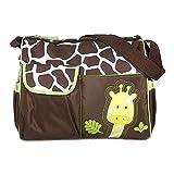 Sac à langer multifonction pour bébé Motif girafe