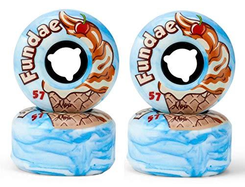 Moxi Fundae Rollen 57 x 34mm 92A (4er-Set) (Bday Cake (blau))