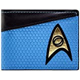 Star Trek Shirt Blau Portemonnaie Geldbörse