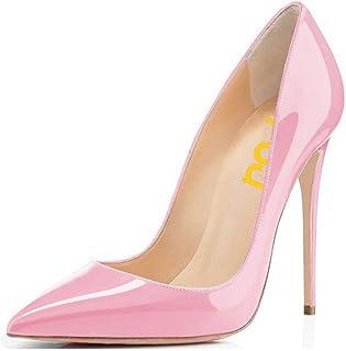 FSJ Women Formal Pointed Toe Pumps High Heel Stilettos...