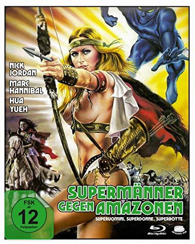 Supermänner gegen Amazonen (Superuomini, superdonne, superbotte) (Sie hauen alle in die Pfanne) [Blu-ray]