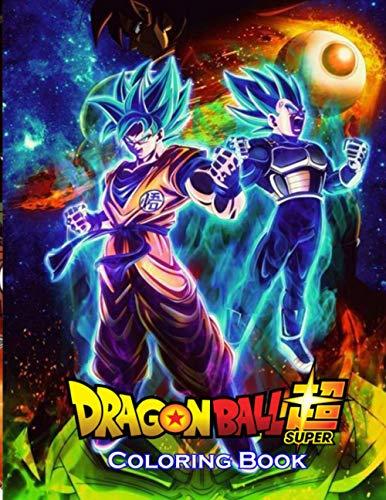 dragon ball super coloring book: 50…