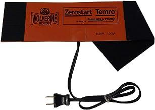 """Zerostart 3400124 Silicone Pad Diesel Fuel Filter Heater Wrap, 12"""" x 4""""   120 Volts   100 Watts"""