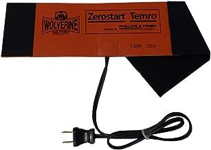Zerostart 3400124 (Wolverine Model FH-100) Silicone Pad Diesel Fuel Filter Heater Wrap | 120 Volts | 100 Watts