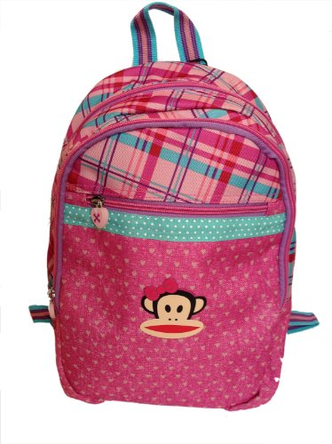 Paul Frank Zainetto Zaino mini rosa Kids - Misure: 36 x 31 cm