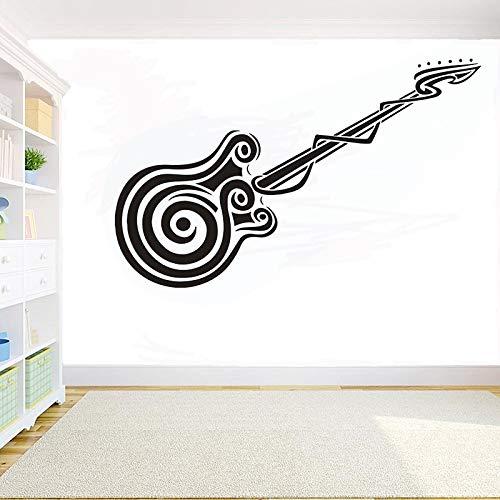Geiqianjiumai Muziek instrument kamer decoratie sticker gitarist muziek toetsenbord hoofdtelefoon muur art decal