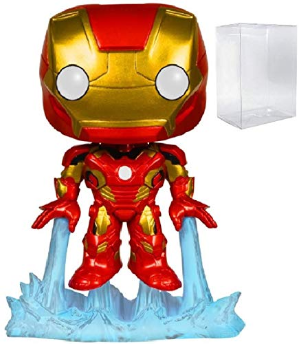 Marvel: Avengers 2 Age of Ultron - Iron Man Mark 43 Funko Pop! Vinyl Figure (Includes Compatible Pop Box Protector Case) image