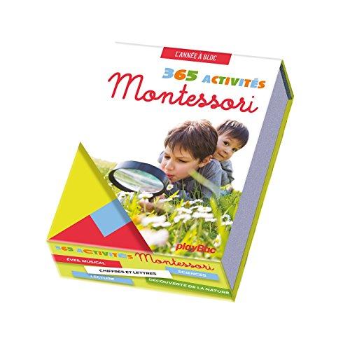 Calendrier 365 Activités Montessori à faire avec mon enfant - L'Année à Bloc