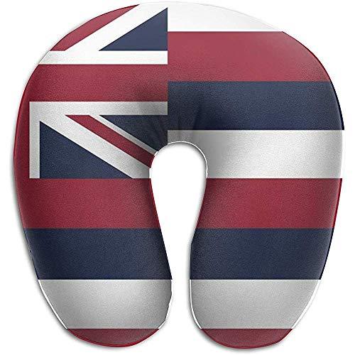 Hawaii State Flag U-vormig kussen U-vormig nekkussen voor de decoratie van slaapbanken
