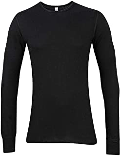 American Apparel Unisex Thermal Long Sleeved T-Shirt