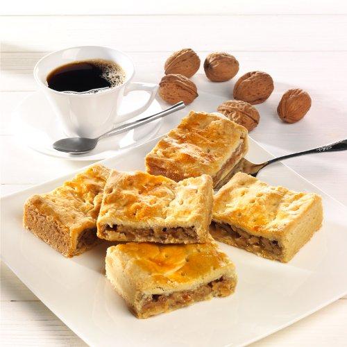 Engadiner Walnuss-Schnittchen - aus feinem Mürbegebäck - gefüllt mit Honig und gehackten Walnüssen (350g)