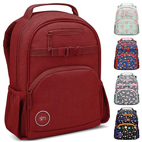 Simple Modern Kids' Fletcher Backpack, Cherry, 7 Liter