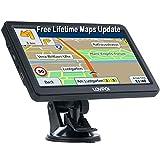 LOVPOI Sat Nav 7 Inch, 2021 UK Ireland Europe Maps(Free Lifetime Updates),Sat Navs For Car Truck...