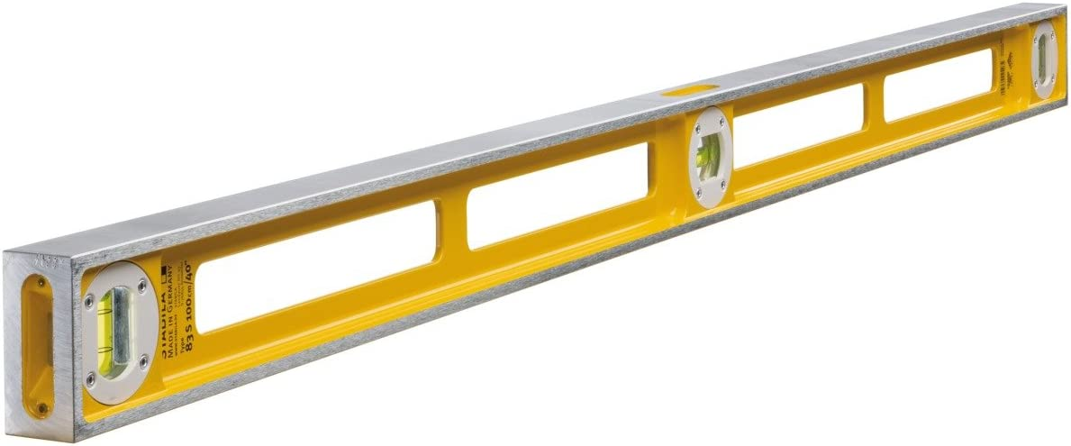 83S Level Double Plumb 3 Vial 2544 60cm Stabila