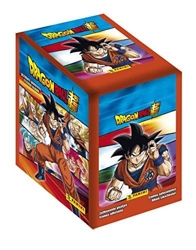 Panini France SA-Dragon Ball Super Ultimate Warriors-Boite DE 50 Pochettes, 004088BOX50F