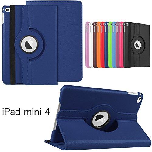 Funda para iPad Mini 4 Funda 360 grados Carcasa Folio para Apple iPad Mini 4.ª Generación A1538/A1550