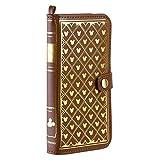 iPhone6sPlus iPhone6Plus ケース 手帳型 カバー ディズニー Old Book カード収納/モノグラム