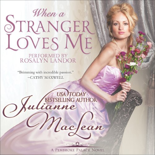 When a Stranger Loves Me audiobook cover art