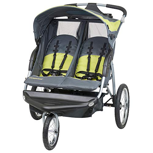 Product Image of the Baby Trend Expedition Double Jogger Stroller, Carbon