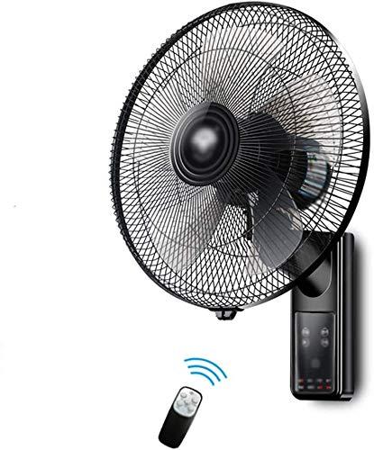 Xiaokang Ventilador de Pared Montado en la Pared Control Remoto silencioso Ventilador eléctrico Montado en la Pared Casa de la Pared Pared