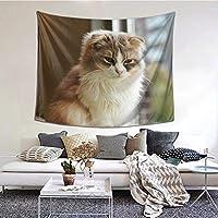 ラグドール cat 猫柄 タペストリー 壁掛けタペストリー 壁飾り壁画 布ポスター インテリア 部屋飾り リビングルーム ベッドルーム お店 装飾用品 おしゃれ雑貨 多機能 個性ギフト tapestry
