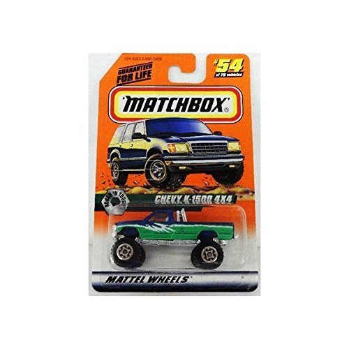 1998 Matchbox (54/75) Chevy K-1500 4x4