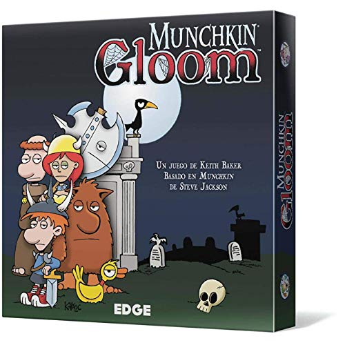 Edge Entertainment- Munchkin Gloom - Español, Color (EEAGGL07)