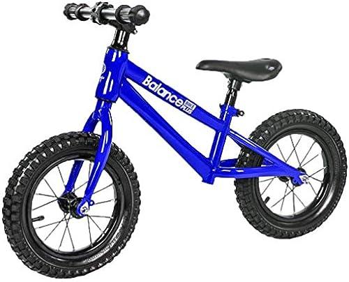 HOQTUM Kinder Balance Bikes Kein Pedal Alter 2-6 Barren Gehen fürrad Lernen für Jungs mädchen Verstellbarer Sitz (Farbe   D)