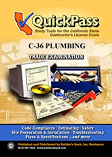 QuickPass Study Tools for the C-36 Plumbing License Examination - CD-ROM